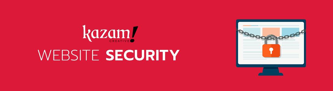 Website Security Provided by Kazam Creative